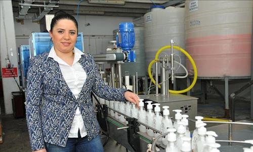 KOSGEB Desteği İle Kurduğu İşletmede Aylık 900 Ton Sıvı Sabun ve 720 Bin Paket Islak Havlu Üretiyor.