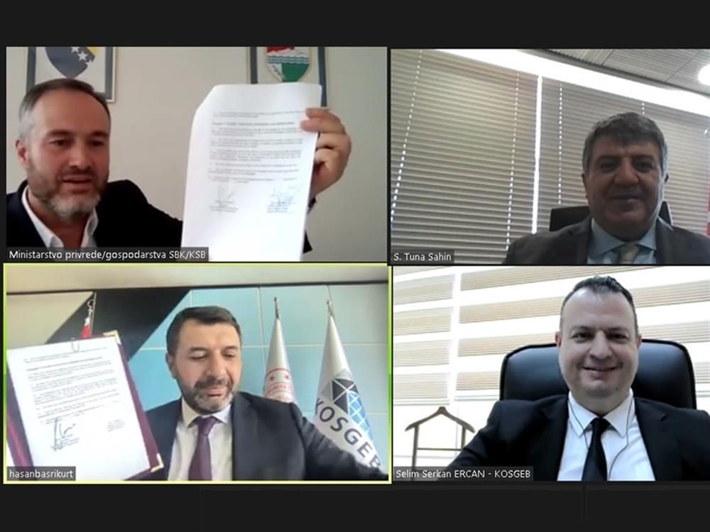 Bosna Hersek ile Mutabakat Zaptı İmzalandı