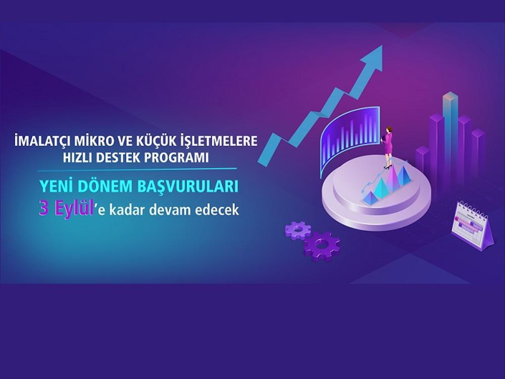 Hızlı Destek Programı Başvuruları 3 Eylül'e Kadar Sürecek