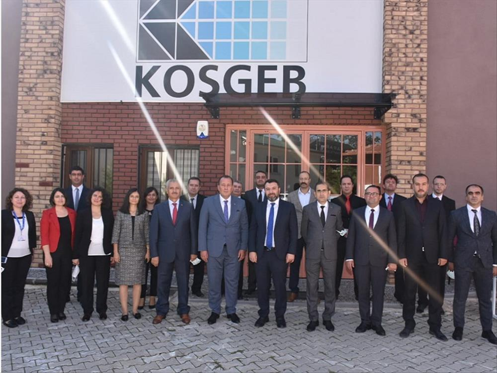 KOSGEB Başkanı Kurt Eskişehir'de