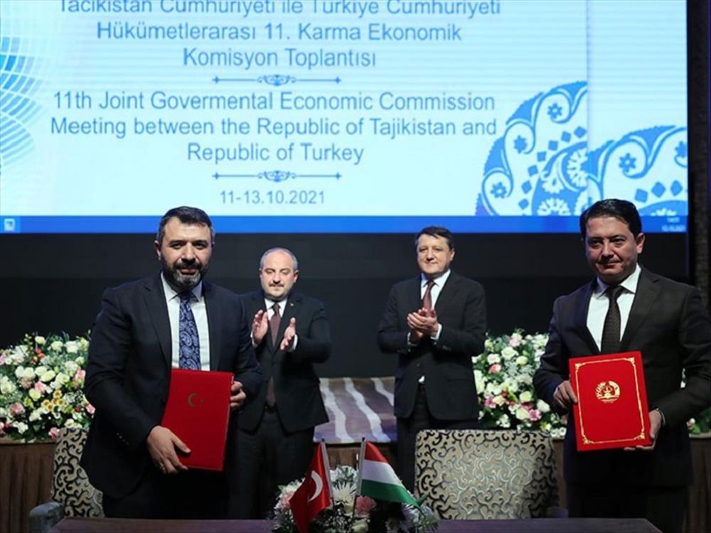 Tacikistan ile Mutabakat Zaptı